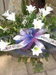 Wiązanka duża ze sztucznych kwiatów