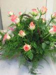 Wiązanka duża z żywych kwiatów